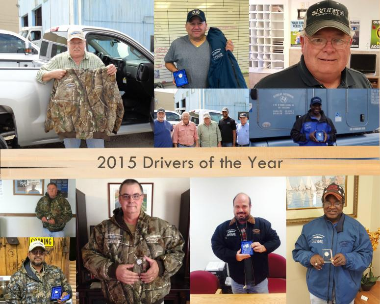 Drivers of the Year